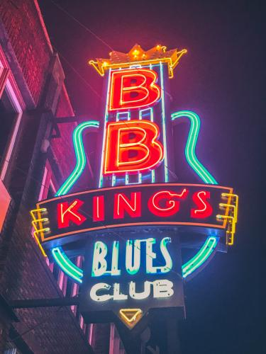 BB Kings Blues Club in der Beale Street Memphis TN
