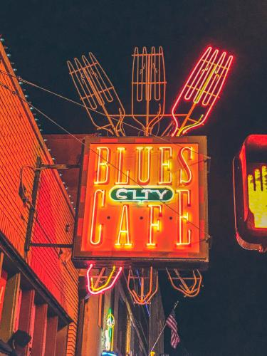 Das Blues City Cafe in der Beale Steet