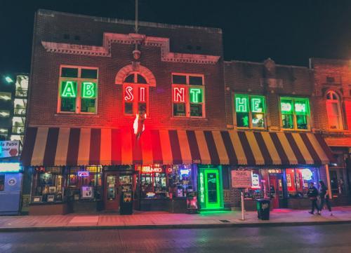 Die Absint Bar in der Beale Street
