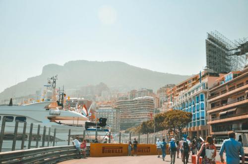 Die tolle F1 Strecke in Monaco